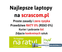 Laptopy poleasingowe Warszawa Scrascom.pl
