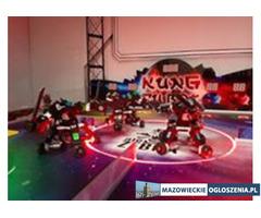 Areny z walkami robotów