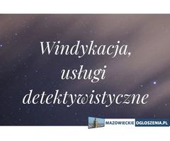 Windykacja, Usługi detektywistyczne