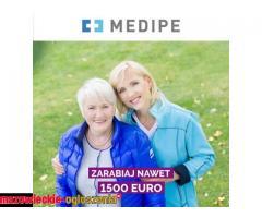 opieka Niemcy 1450 EURO + do 400 EURO premii świątecznej / Opiekunka osób starszych