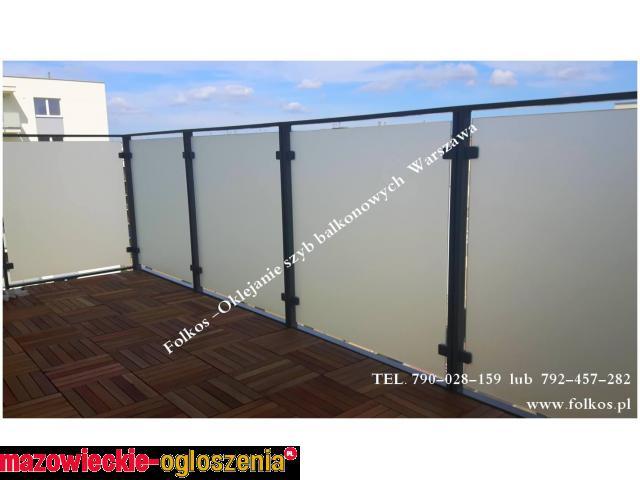 Folie okienne Warszawa -Folie na Balkony,Ścianki działowe,Okna i Drzwi