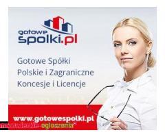 Gotowa Spółka Zagraniczna Niemcy, Łotwa, Bułgaria, Czechy, Słowacja /
