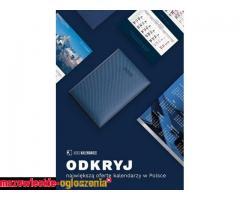Kalendarze reklamowe 2020 z indywidualnym nadrukiem od 2,45 zł