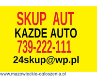 Skup aut Warszawa 739 222 111 Kupię każde auto