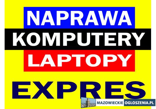 Szybkie i tanie naprawy komputerów PC laptopów instalacja Windows 10