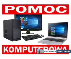 Serwis komputerowy naprawa laptopów komputerów pomoc zdalna pogotowie komputerowe informatyk Warszaw