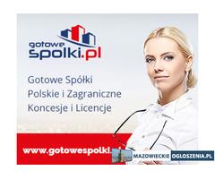 Gotowe Spółki Niemieckie, Czeskie, Holenderskie, Gotowe Fundacje, Włochy, Niemcy, Bułgaria, KONCESJA