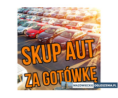 Mobilny skup aut Warszawa za gotówkę - Skup samochodów używanych - 571-460-990